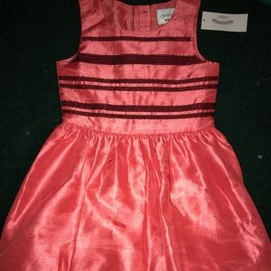 Gymboree Sz 7 Coral Dress NWT